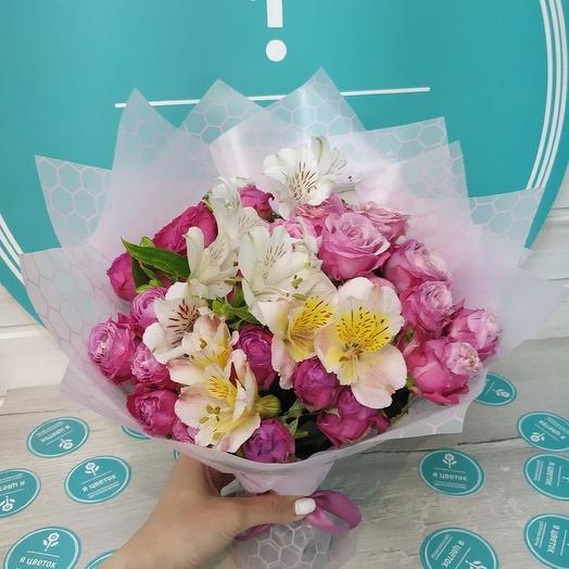 Яркий цветочный букет: букеты цветов на заказ Flowwow