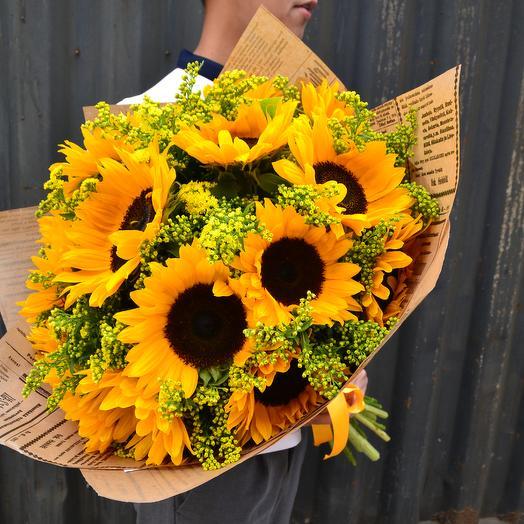 Для тебя солнышко мое: букеты цветов на заказ Flowwow