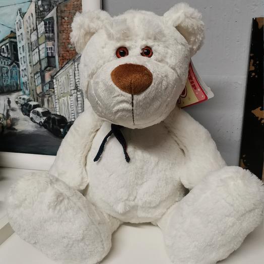 Медведь белый: букеты цветов на заказ Flowwow