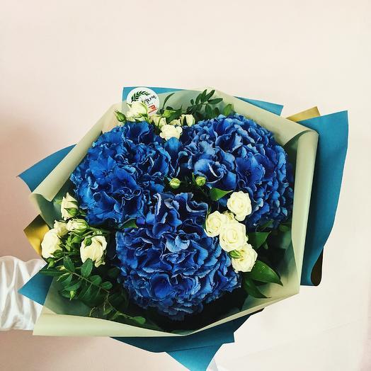 "The Bouquet Of ""Hydrangeas"""