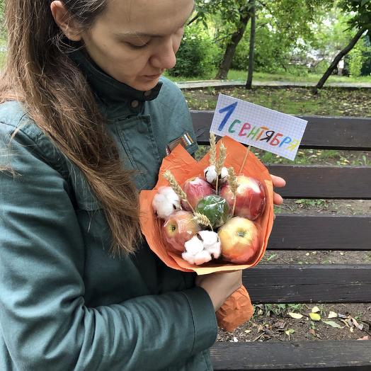 «В школу» фруктовый микс: букеты цветов на заказ Flowwow