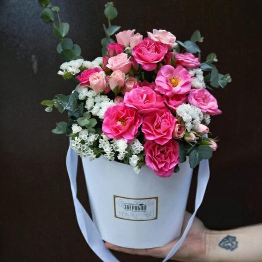 Розы в белом: букеты цветов на заказ Flowwow