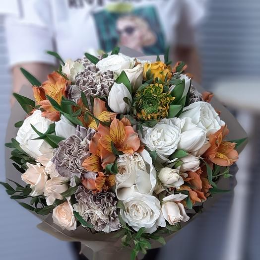 Тонкий вкус: букеты цветов на заказ Flowwow