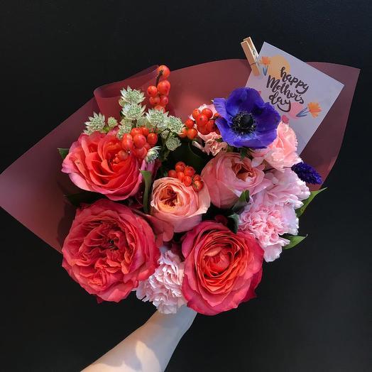 Букет любимой маме: букеты цветов на заказ Flowwow