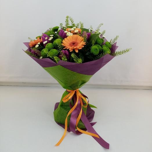Луговая радость: букеты цветов на заказ Flowwow