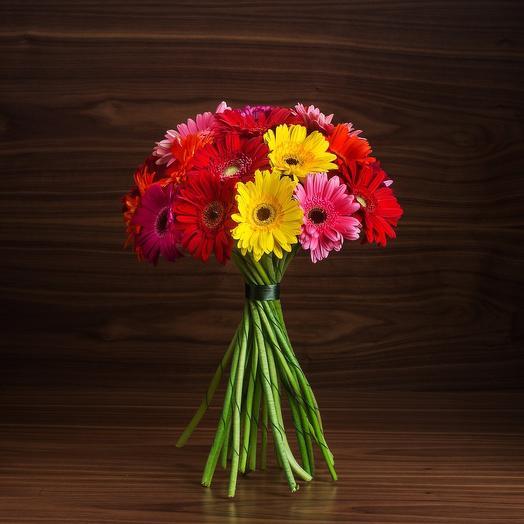 Гербера микс 19: букеты цветов на заказ Flowwow