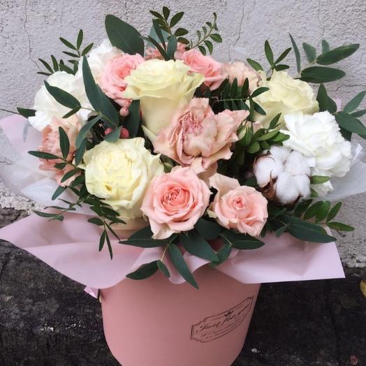 Цветы в коробке Бильбо