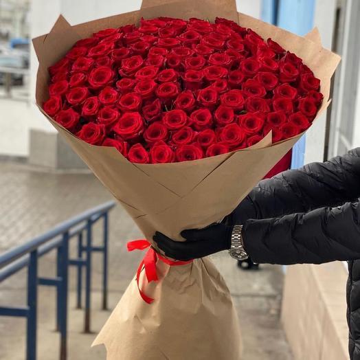 101-Роза высота 100см