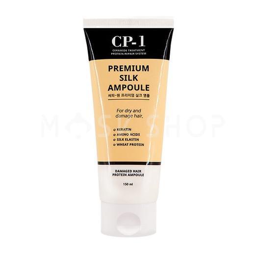 Несмываемая сыворотка с протеинами шелка Esthetic House CP-1 Premium Silk Ampoule