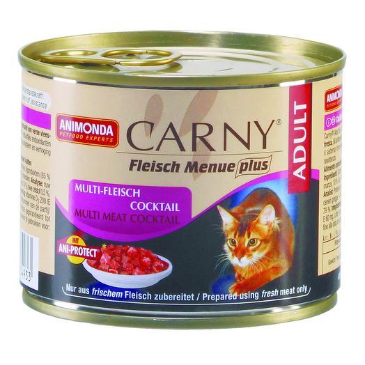 Animonda Carny консервы коктейль из разных сортов мяса для кошек 200 г