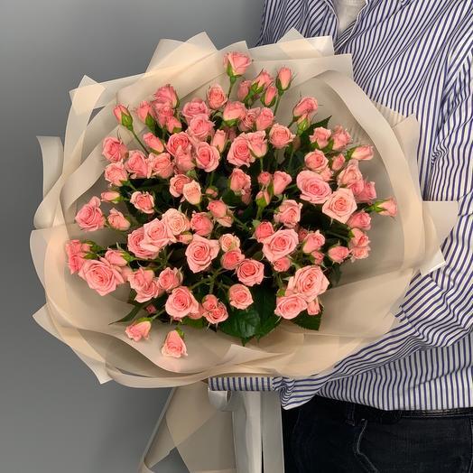 Букет из кустовых роз  7
