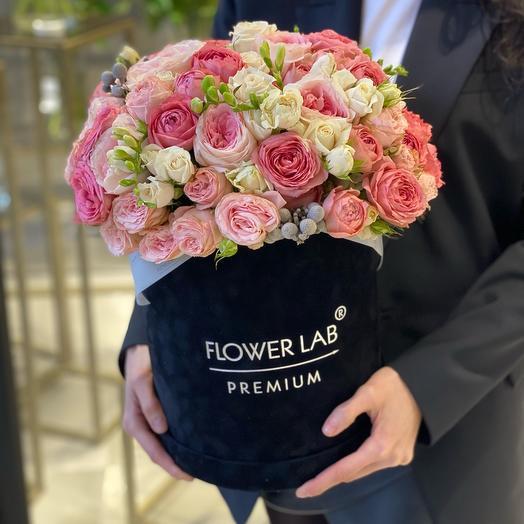 Цветы в коробке Premium