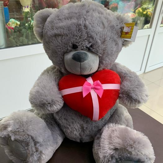 "Soft toy "" Bear with a heart»"