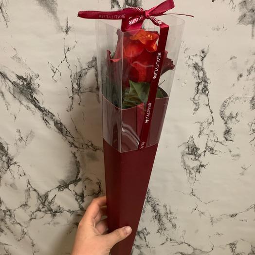 Роза в конверте