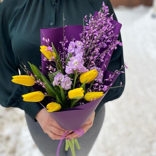 Букет «Весна тебе»