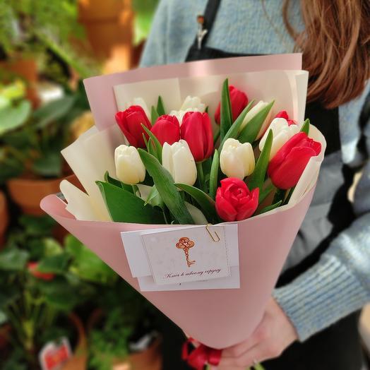 Элитные тюльпаны в оформлении