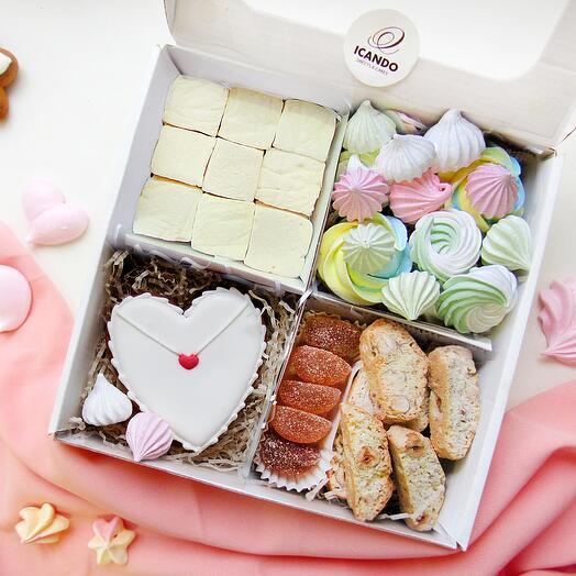 """""""День Влюбленных 2"""", сладкий подарочный набор"""