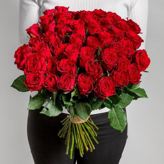 Монобукет 51 роза