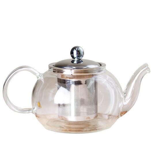 чайник с ситом, стекло, 800 мл 1 шт