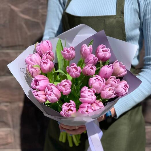 Букет из тюльпанов «Шарм»