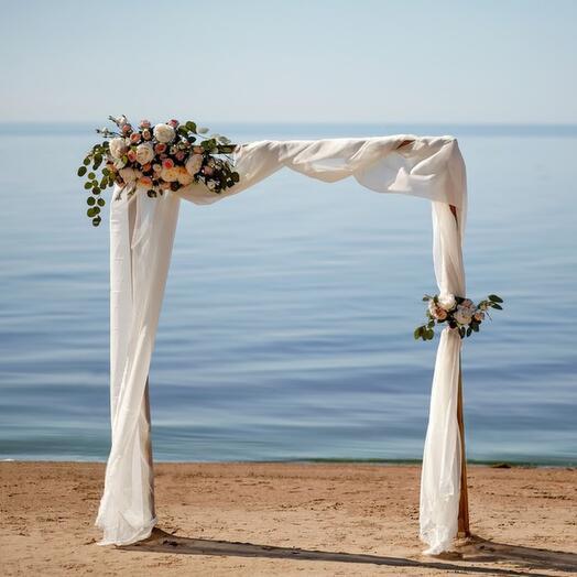 Оформление свадебной арки Standart , от 19000 рублей