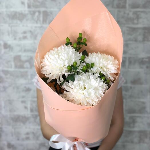3 хризантемы
