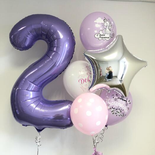 Сет «День рождения девочки»
