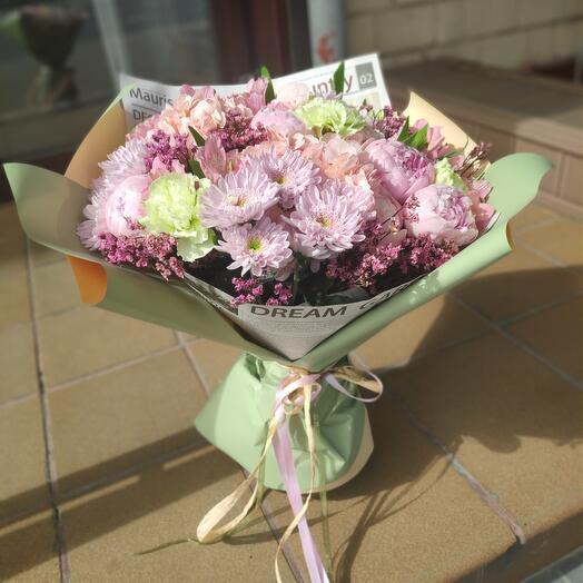 Букет цветов Хорошие Новости
