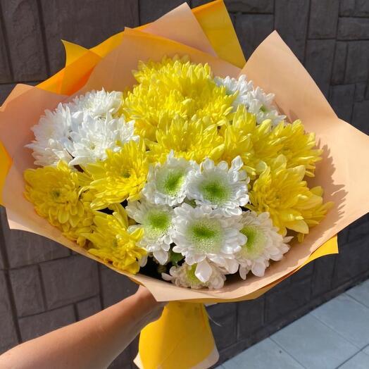 Солнечные хризантемы