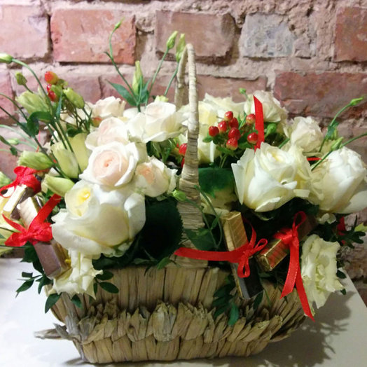 Basket of Sweet sin: flowers to order Flowwow