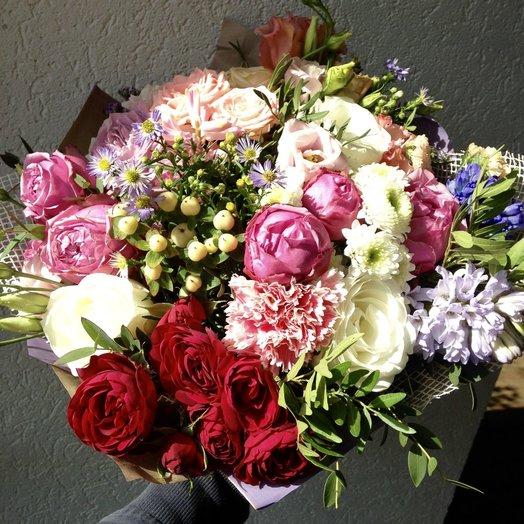 Симфония весны: букеты цветов на заказ Flowwow