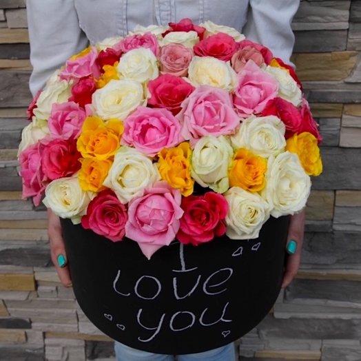 Коробочка 77: букеты цветов на заказ Flowwow