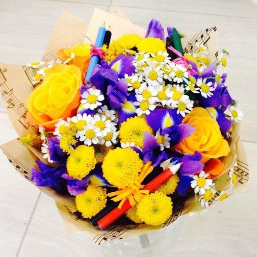 1 Сентября Букет 05: букеты цветов на заказ Flowwow