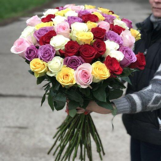 Цветик семицветик: букеты цветов на заказ Flowwow