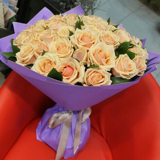 Кремовое наслождение : букеты цветов на заказ Flowwow