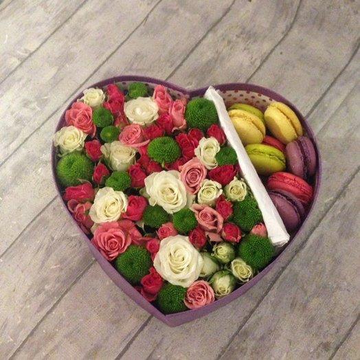 Сердечко Мое: букеты цветов на заказ Flowwow