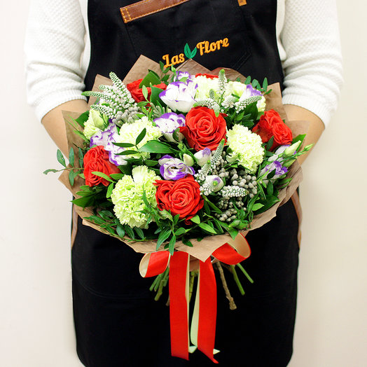 Букет Мими: букеты цветов на заказ Flowwow