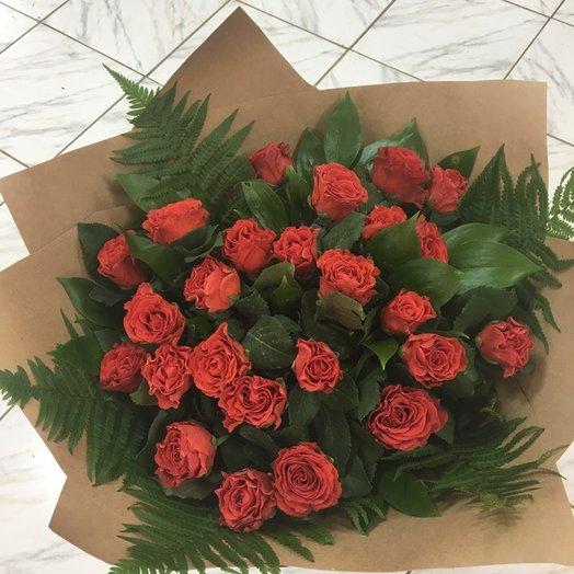 "Розы ""Эль торо"": букеты цветов на заказ Flowwow"