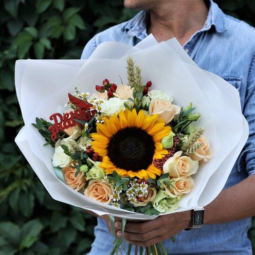 1 сентября: Солнечный Майкл : букеты цветов на заказ Flowwow