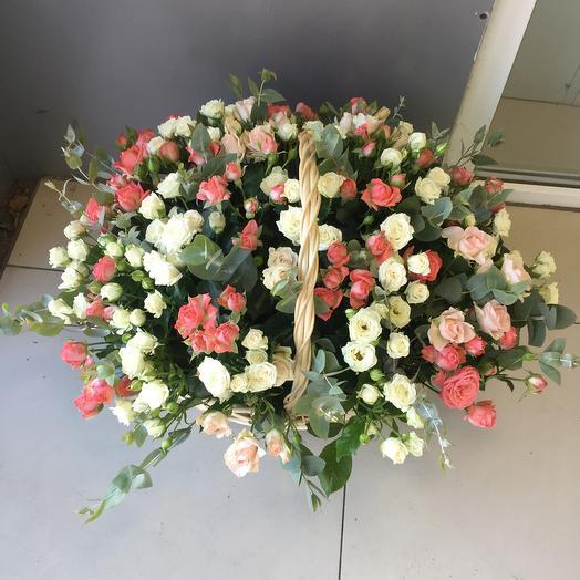 Шик корзина: букеты цветов на заказ Flowwow