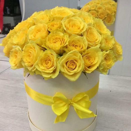 Желтая роза: букеты цветов на заказ Flowwow