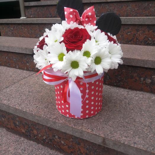 Минни маус: букеты цветов на заказ Flowwow