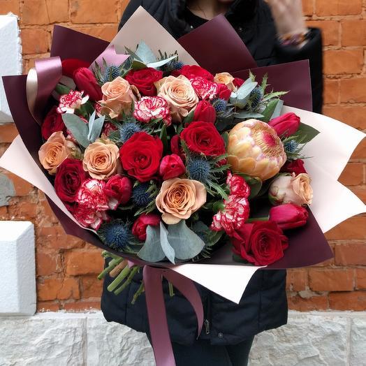 Chic: букеты цветов на заказ Flowwow