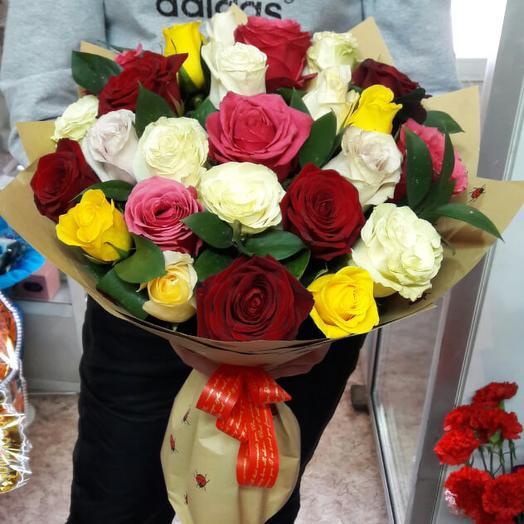 Букет 105: букеты цветов на заказ Flowwow