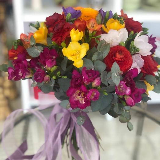 Фрезия от JennyFlowers: букеты цветов на заказ Flowwow