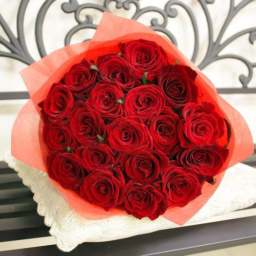 Букет 30 19 шт - 60 см: букеты цветов на заказ Flowwow
