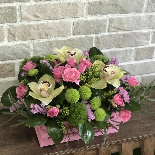 Веселая цветочница