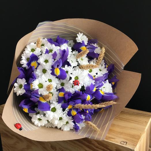 Летнее воспоминание: букеты цветов на заказ Flowwow