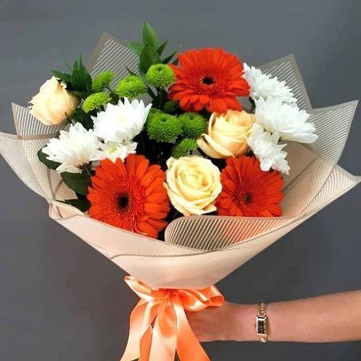 Школьный букет: букеты цветов на заказ Flowwow