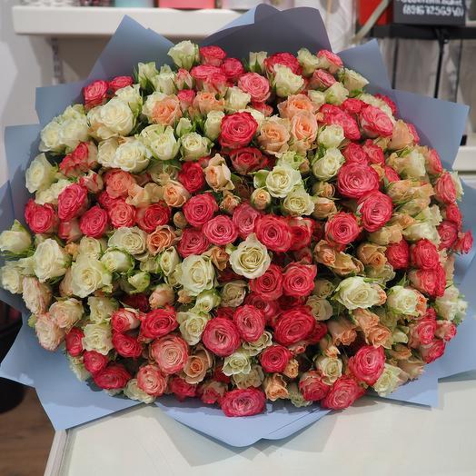 71 кустовая роза: букеты цветов на заказ Flowwow